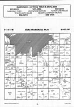 Lake Marshall T111N-R41W, Lyon County 1992